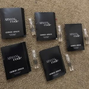 Giorgio Armani Other - Armani code giorgio armani sample perfumes bundle