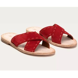 Frye Shoes - FRYE Leather Sandals Casual Slip On Bohemian Shoes