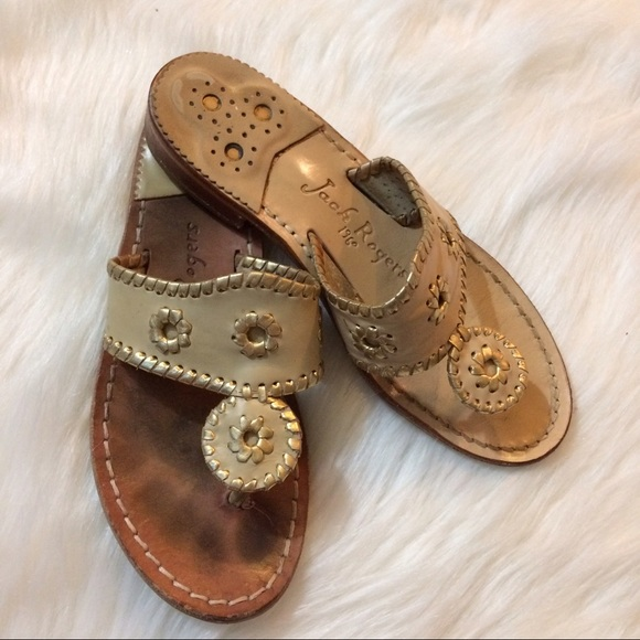 ee4624078 Jack Rogers Shoes - Jack Rogers leather sole sandals