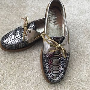 Sperry Top-Sider Shoes - Metallic Snake Sperry Top Sider