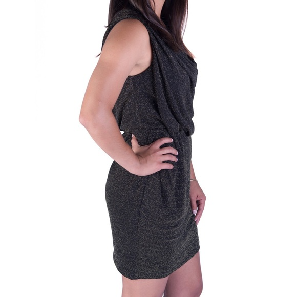 THML Dresses - NEW Black Shimmery Cocktail Dress