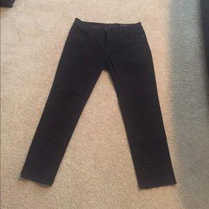 DL1961 Denim - DL1961 studded cropped black Jeans