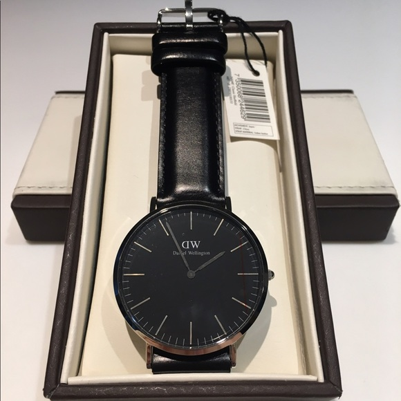 cc451003be672 Daniel Wellington Classic Black Sheffield 40mm