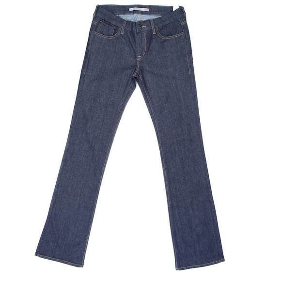 7 For All Mankind Jeans - NEW Dark Rinse Slim Bootcut Jeans
