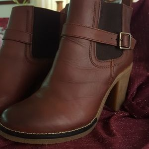 Gabriella Rocha Shoes - Brown Geniune Leather Upper Boots