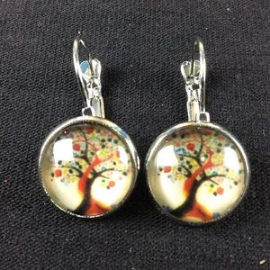 New Pretty Tree of Life Earrings