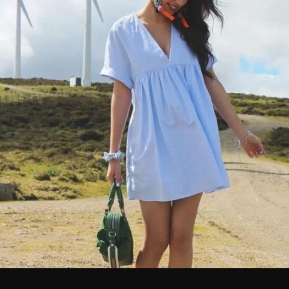 Zara Pants - Brand NEW Zara white dress romper