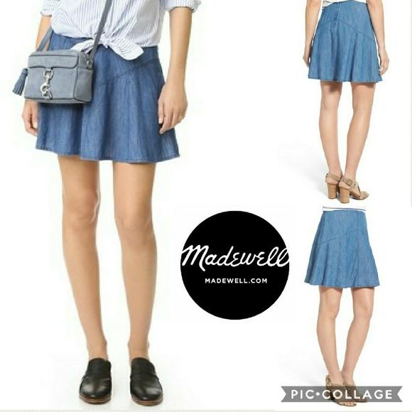 deb705195 Madewell Dresses & Skirts - 🌟SALE🌟NWOT Madewell Flared Piazza Skater Skirt