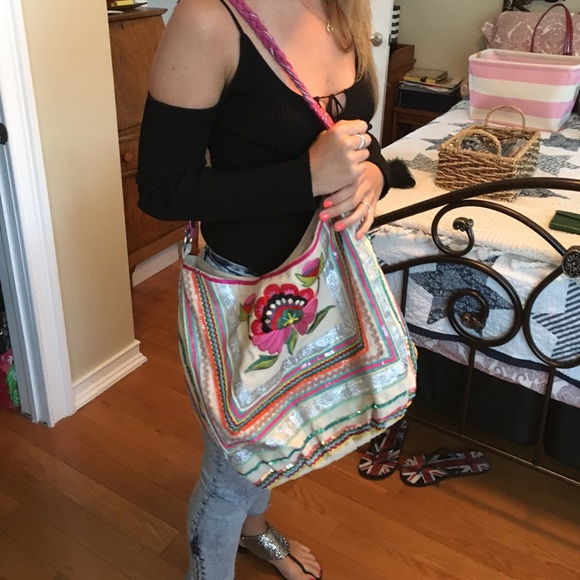 54% off ALDO Handbags - ALDO BEACH BAG from Joan's closet on Poshmark