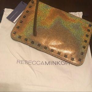 Rebecca Minkoff Handbags - Rebecca Minkoff Glitter (Iridescent) Pouch