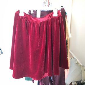 Velvet American Apparel Skirt