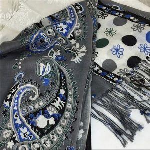 Accessories - Beautiful print scarf, 100% viscose