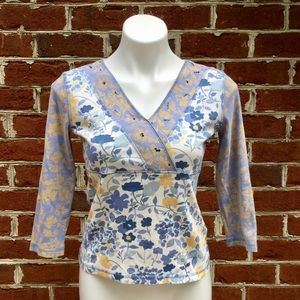 Sigrid Olsen Tops - 🌸Petite Sigrid Olson top🌸 Medium, Like New!