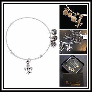 Alex And Ani Jewelry - ALEX AND ANI BANGLE French Royalty