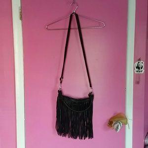 Linea Pelle Handbags - Linea pelle fringe bag