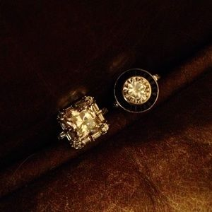 Jewelry - Extra pics of CZ ring