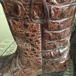 Buitre' Shoes | Alligator Boots | Poshmark