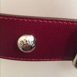 Dolce & Gabbana Accessories - Dolce & Gabana burgundy belt