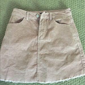 Brandy Melville Skirts - Pink brandy corduroy skirt