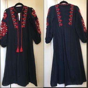71ce4199 Zara Dresses | Ethnic Embroidered Dress | Poshmark