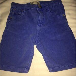 Zara Other - Zara Kids Cobalt Blue Denim Shorts