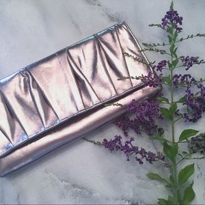 Handbags - Chrome Metallic Clutch