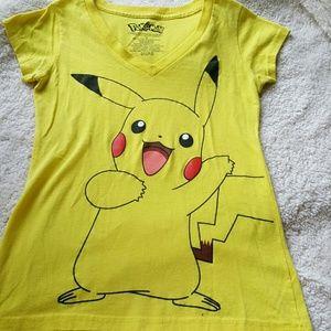 Pokemon Tops - Pokemon Pikachu t-shirt