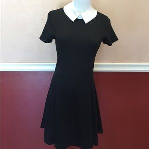 Western Style Dresses & Skirts - NWT Wednesday Peter Pan Collar Goth Dress S