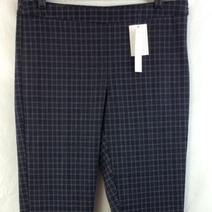 Amanda & Chelsea Pants - $110 Amanda+Chelsea plaid slim dress pants sz 10