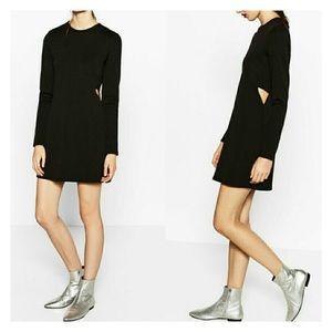 Zara Dress With Side Cutout
