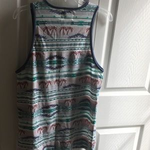 on the byas Shirts - summer Aztec palm tree tank top nwt on The Byas