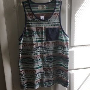 on the byas Other - summer Aztec palm tree tank top nwt on The Byas