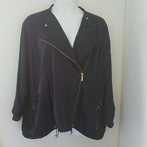 NWT 3X Michael Kors Black Jacket