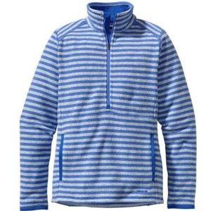 Patagonia Jackets & Blazers - Patagonia Better Sweater Stripe Marsupial 1/2 Zip