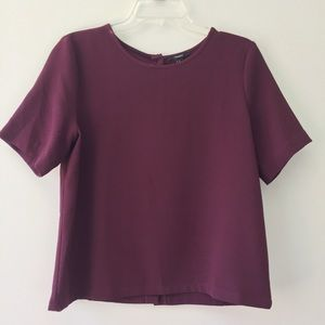 Dark Burgundy Box Top