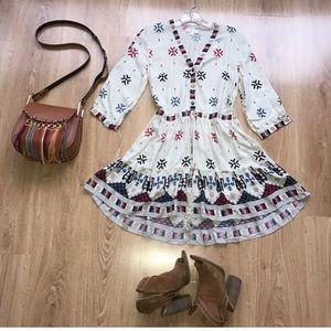 Arnhem Dresses & Skirts - Arnhem Vast Horizon Gypsy Mini Dress S Small