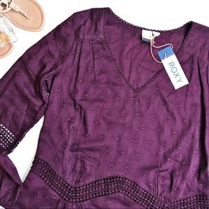 Roxy Cali Stars Long Sleeve Dress