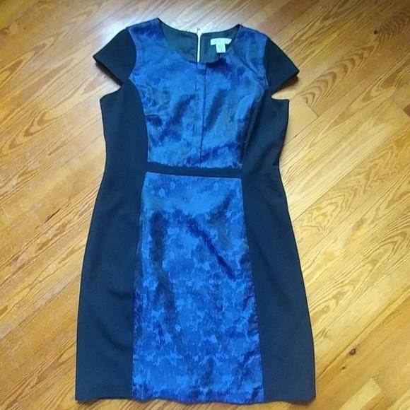 Liz Claiborne Dresses Plus Size Black Blue Dress Poshmark