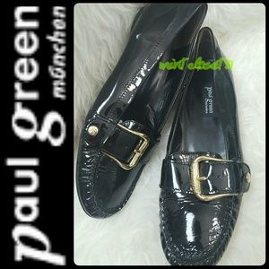 Paul Green Shoes - Paul Green Munchen Patent Leather Loafers