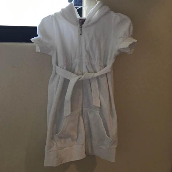 Juicy couture girls juicy couture swim cover up from for Canopy couture