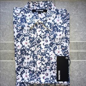Baldwin Other - Baldwin Denim Floral Shirt NWT (Orig $165) REDUCED