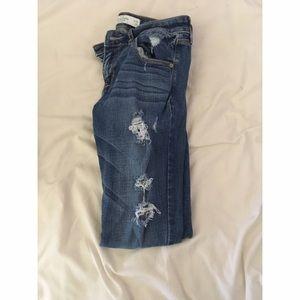 Abercrombie & Fitch Denim - Skinny Jeans Dark Wash