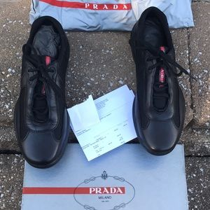 Prada Other - Prada Nevada Bike Sneaker PSO906
