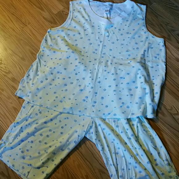 Karen Neuburger Intimates Amp Sleepwear Pj Set Size 1x