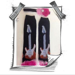 Other - GUITAR LEG WARMERS W HEADBAND