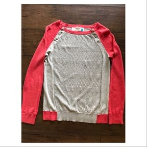 Anthropologie Sparrow Cotton Knit Shirt