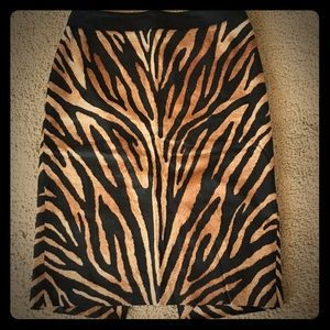 White House Black Market Dresses & Skirts - WhiteHouse BlackMarket Animal print pencil skirt.