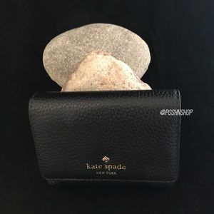 kate spade Handbags - Kate Spade Cobble Hill NWT/Black Wallet