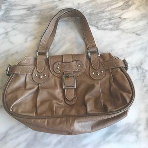 Longchamp top handle handbag