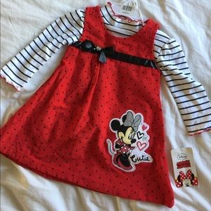 Disney Other - ✨ NWT Minnie Mouse red polka dot dress ✨